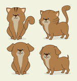 Pet design. Royalty Free Stock Images