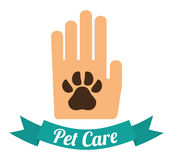 Pet design. Stock Image