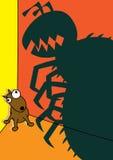 Pet dog flea infestation Royalty Free Stock Image