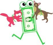 Pet dollar Royalty Free Stock Photo