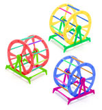 Pet Exercise Wheels Stock Photo