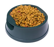 Pet Food with Clipping Path Stock Images