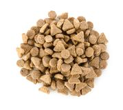 Pet food isolated Stock Photography