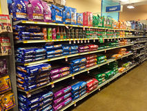 Pet Food at Petsmart Eugene, OR Royalty Free Stock Photo