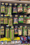 Pet Food at Store Stock Photography