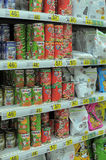 Pet Food at Store Royalty Free Stock Images