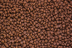 Pet food texture Royalty Free Stock Photo