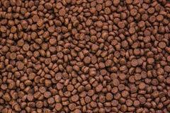 Pet food texture Royalty Free Stock Photo