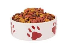 Pet food on white Stock Photos