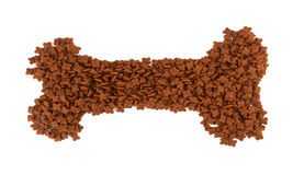 Pet food on white Stock Photo