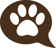 Pet foot. Been created as vector stock illustration