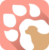 Pet foot. Has been created as vector royalty free illustration