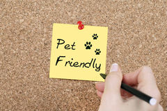 Pet Friendly Royalty Free Stock Photos