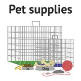 Pet goods  Stock Images