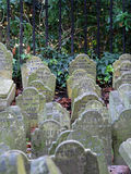 Pet graveyard. Graveyard for aristocracy pets in old London royalty free stock photo