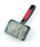 Pet grooming brush Stock Photos