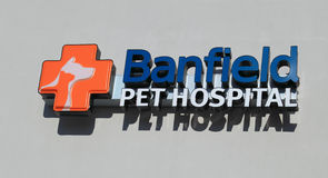 Pet Hospital Sign stock photos