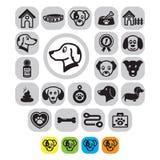 pet icon set. Vector illustration decorative design
