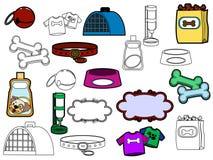 Pet Icons Stock Photo