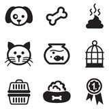 Pet Icons Royalty Free Stock Image
