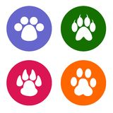 Pet icons Royalty Free Stock Images