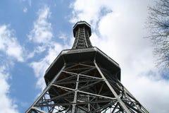 Petřín Lookout Tower Stock Image