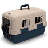 Pet o portador para o animal de estimação que viaja na ilustração 3D branca ilustração royalty free