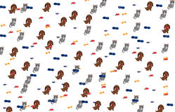 Pet pattern Stock Photos