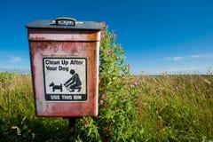 Pet poop disposal Royalty Free Stock Photo