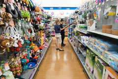 Pet Products, Big W Superstore Stock Photo