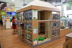 Pet Products in a pet supermarket. Stock Photography