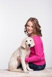 Pet's frienship Royalty Free Stock Photo