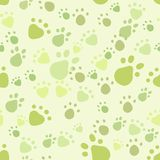 Pet seamless. Eps 10 vector seamless pattern with pet legs' imprint Royalty Free Stock Photos