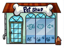 A pet shop Stock Image