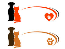 Pet shop advertising with place for text Stock Images