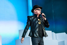 Pet Shop Boys concert Royalty Free Stock Images