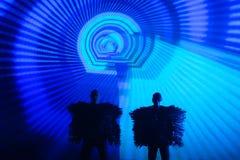Pet Shop Boys on Exit Festival Stock Photo