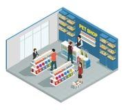 Pet Shop Composition Stock Photos