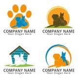 Pet Shop Concept Logo Royalty Free Stock Photos