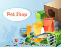 Pet shop concept Stock Photography