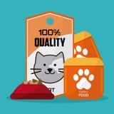Pet shop design Royalty Free Stock Images