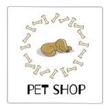 Pet shop dog Stock Photo