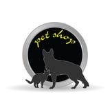 Pet shop icon  illustration Stock Images