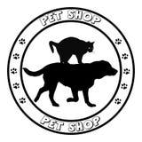 Pet shop icon Stock Images