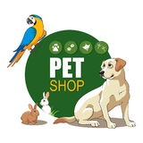 PET SHOP Royalty Free Stock Photo