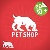 Pet Shop Illustration Royalty Free Stock Photography