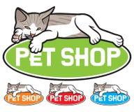 Pet shop label Stock Images