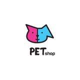 Pet shop logo design - symbol. Stock Image