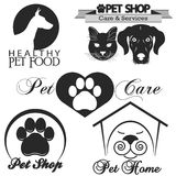 Pet shop logo vector Stock Image