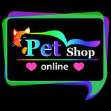 Pet shop sign or banner Royalty Free Stock Photo